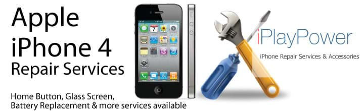 Apple iPhone 4 Glass Screen Repair Services