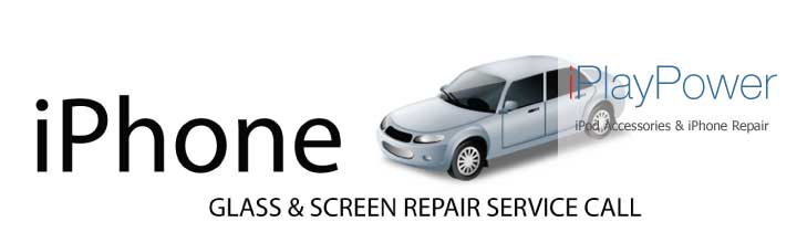 iPhone 4 Glass Touchscreen repair service call Fixed today in under an hour.