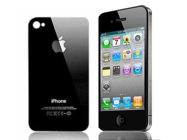 Apple iPhone 4S Glass Touchscreen Replacement - Black