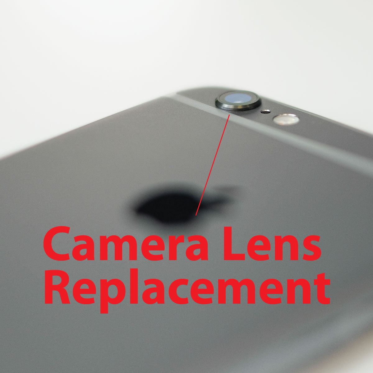 the best attitude d16da 6c3fc Apple iPhone 6 Series Camera Lens Replacement