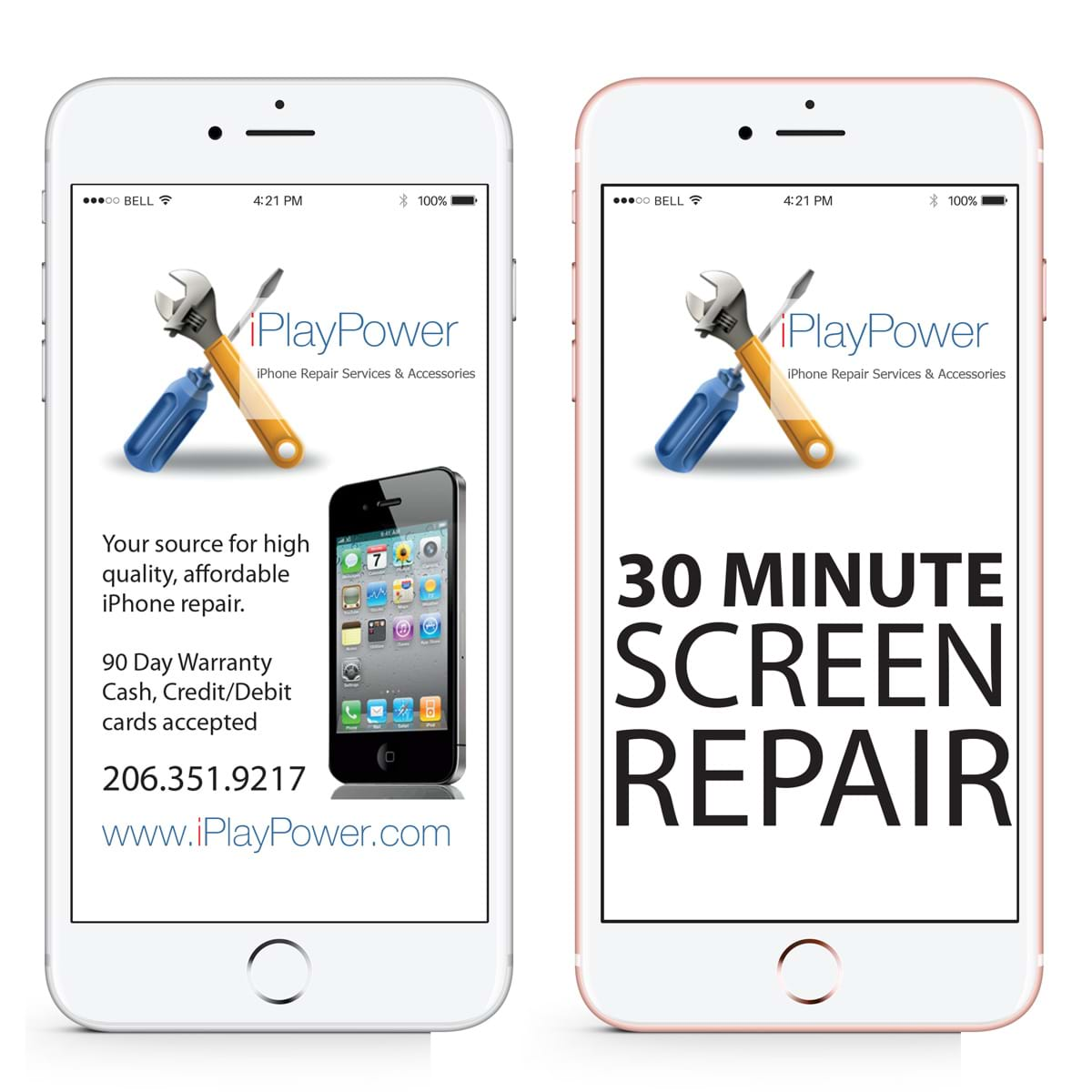 iPhone 6S Plus (+) Glass Screen Repair