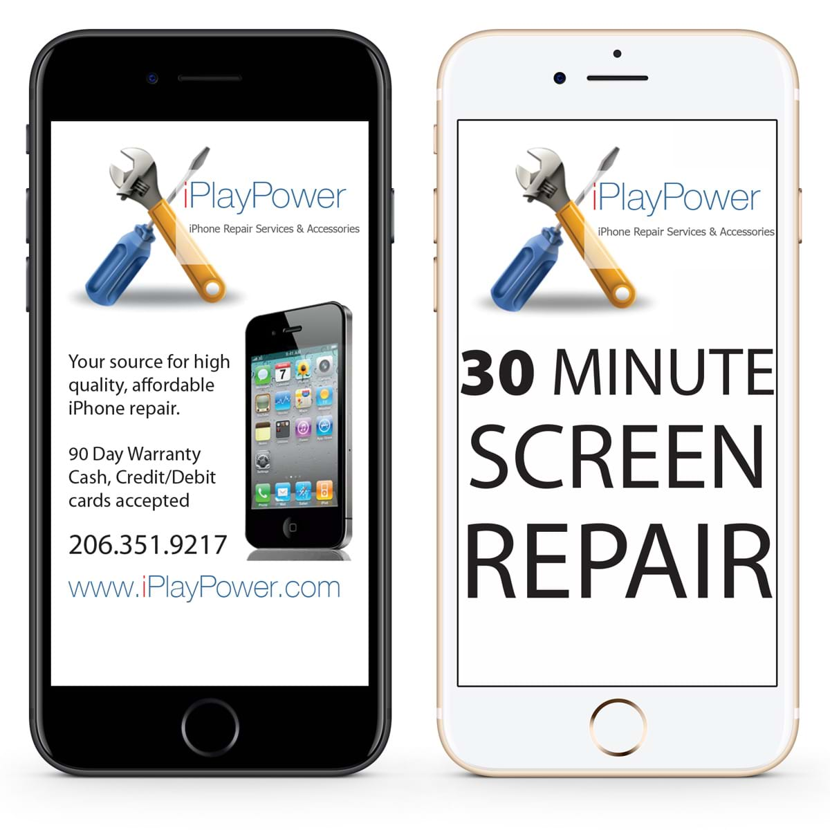 cracked iphone 7 screen repair
