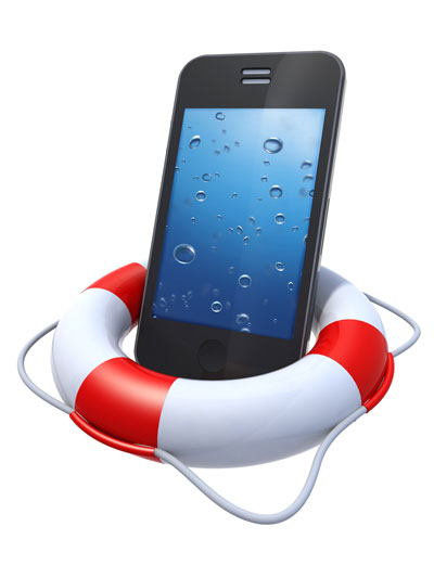 Water Damaged iPhone Data Recovery Services