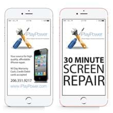iPhone 6S Plus Cracked Screen Repair